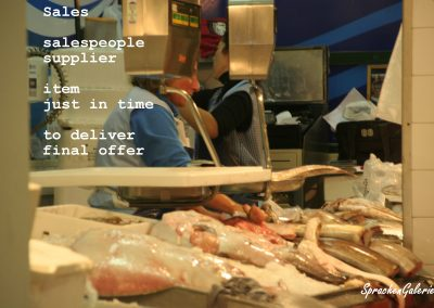 LearnPic sales - fish salespeople T