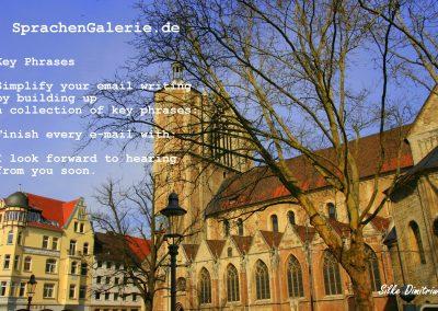 SprachenGalerie Braunschweig city Burgplatz key phraseT