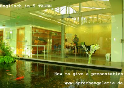 how to give a presentation - office BST