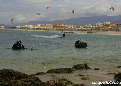 Andalusien prodivers Eintauchen