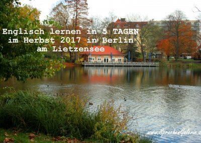 Lietzensee Englisch lernen Herbst SprachenGalerie