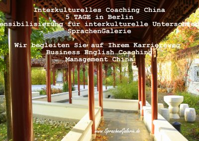 interkulturelles Coaching China