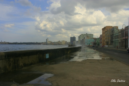 Havanna Kuba – Miniflut 2016 und Hurrikan Irma 2017