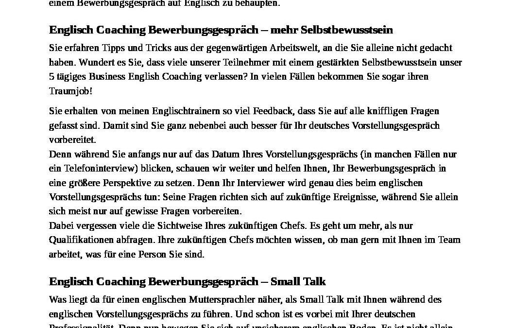 Job-Coaching-Bewerbungsgespräch-auf-Englisch-Hompeage-SprachenGalerie
