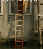 LearnArt-Pic-ladder-is-leaning-against-the-wrong-wall-2015-SprachenGalerie-150×170