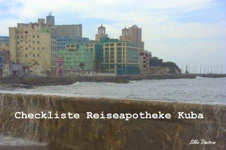 SprachenGalerie-Checkliste-Reiseapotheke-Kuba-Silke-Dimitriw
