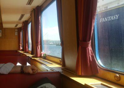 mit der Fähre von Kiel nach Laboe