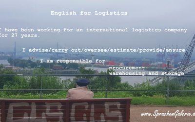 English for Logistics – für Manager der Logistikbranche