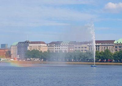 SprachenGalerie Hamburg Binnenalster Englisch lernen