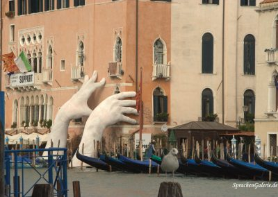 Venedig SprachenGalerie Kunstausstellung Herbst 2017