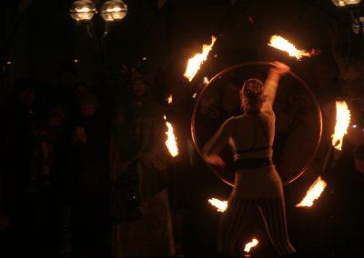 Feuershow SprachenGalerie Hamburg_