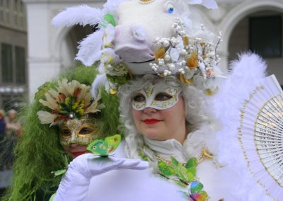 SprachenGalerie Hamburg Karneval Alsterarkaden 2018