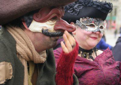 SprachenGalerie Hamburg barocker Straßenkarneval