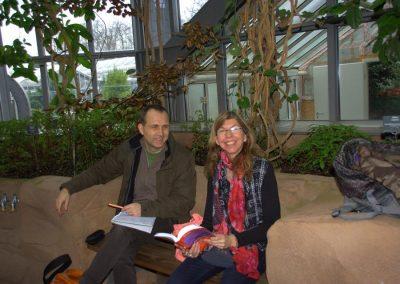 Sprachunterricht im Botanischen Garten